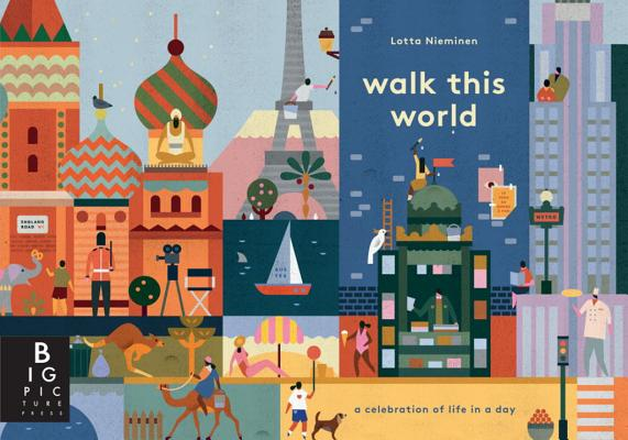 Walk This World By Broom, Jenny/ Nieminen, Lotta (ILT)